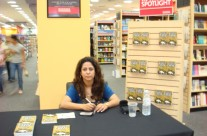 Book launch of 'The White Crow' at Borders, Dubai